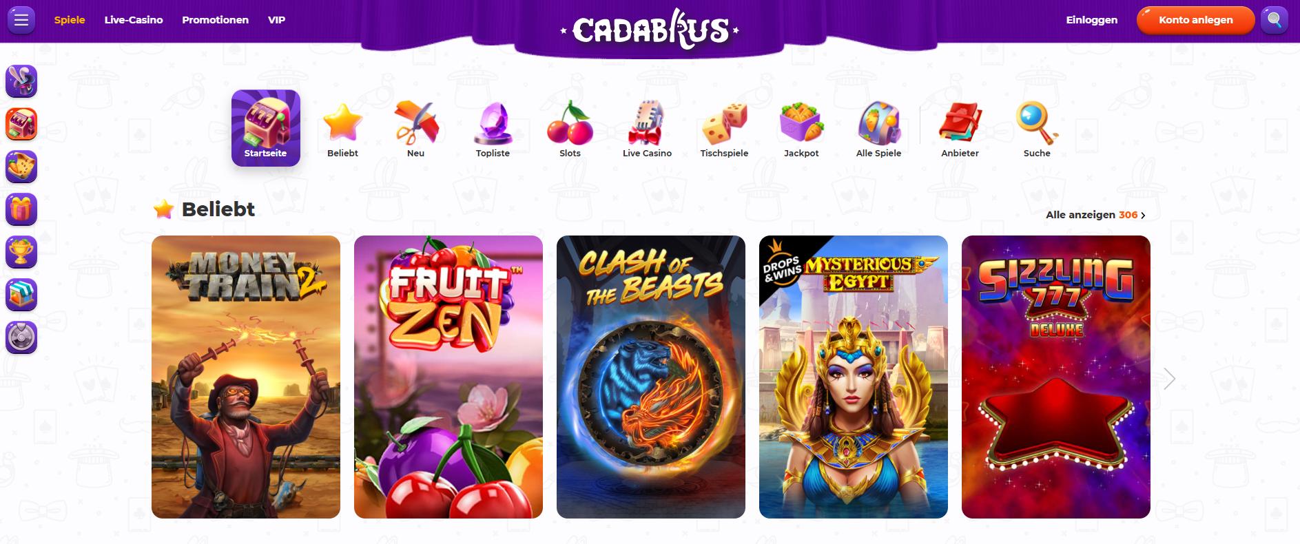 casino-cadabrus-alle-slots-vergleich-erfahrung