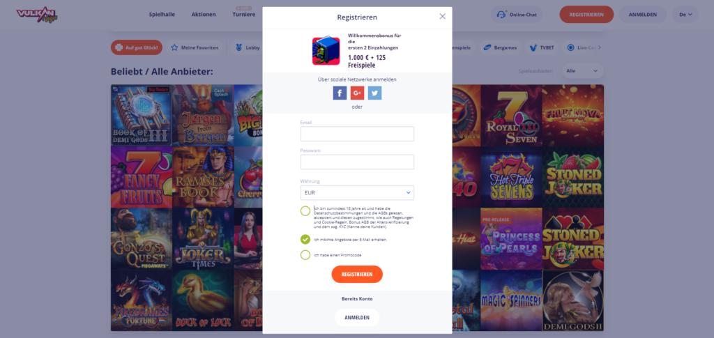 online-casino-registrierung-2021